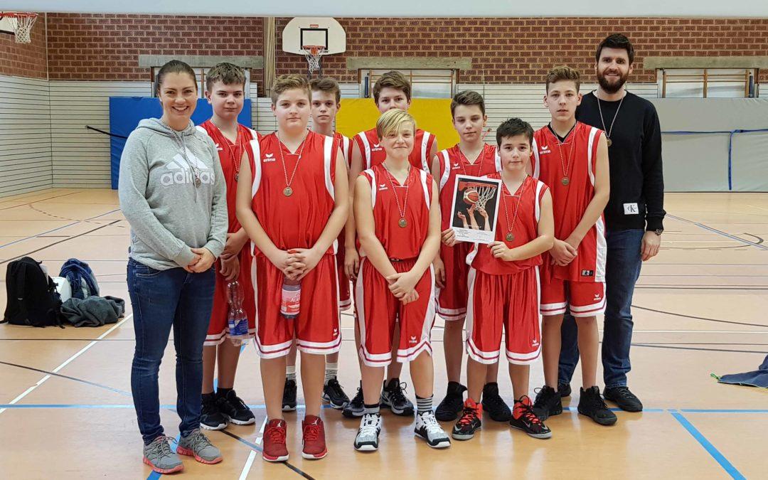 Basketball Bezirksfinale in Würzburg