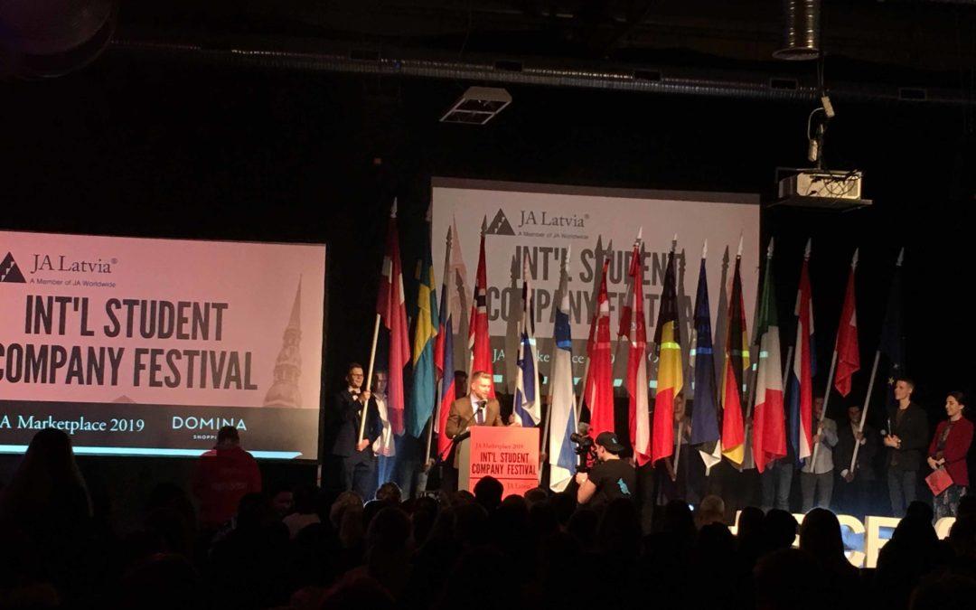 Nominierung für die Schülerfirma EBRG bei Internationaler Schülerfirmenmesse in Riga