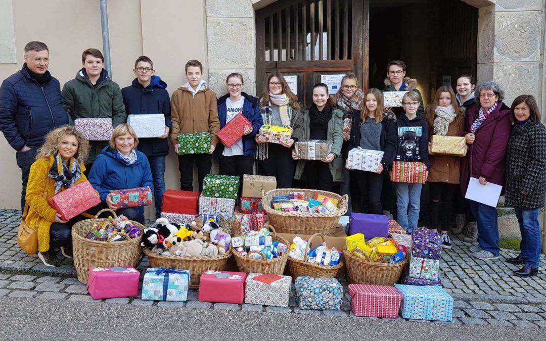 Merry X-MAS, Tafel Eltmann!!! – Riesige Spendenbereitschaft unserer Schulfamilie