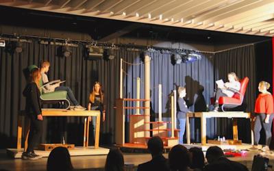Eine Theateraufführung  der besonderen Art