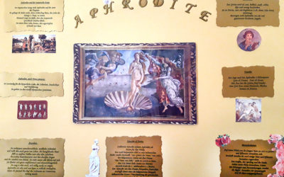 Kunstgeschichte 8. Klasse Renaissance: Plakate zu Gottheiten