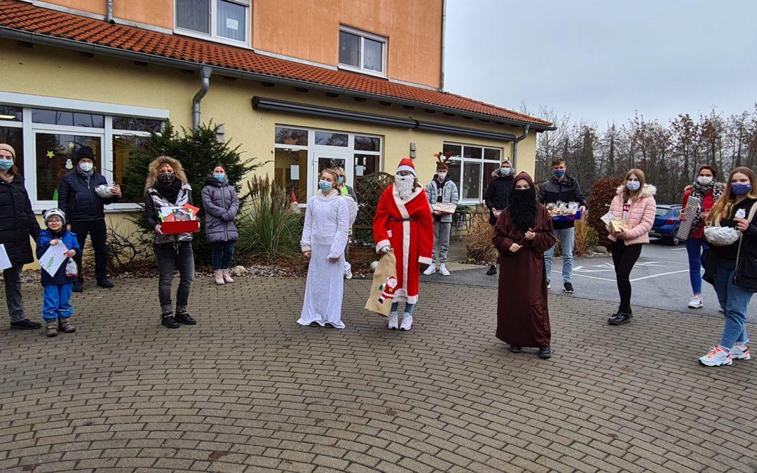 Ein etwas anderer vorweihnachtlicher Besuch / 45 Minuten Weihnachten to go vor St. Stephanus