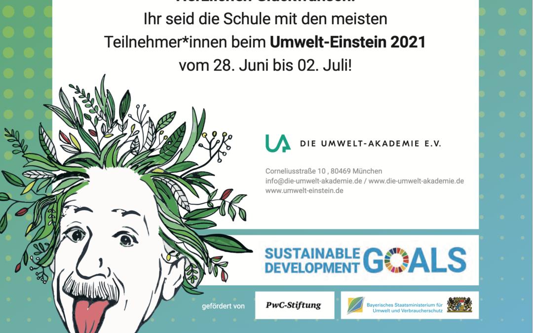 Wettbewerb Umwelt-Einstein 2021